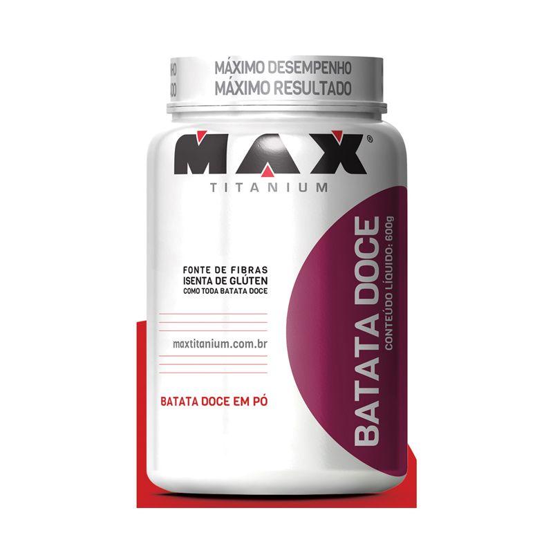 Batata Doce Max Titanium 600 G Natural