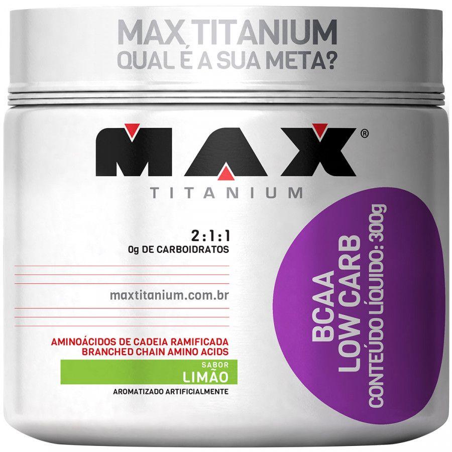 Bcaa Low Carb 300 G Max Titanium