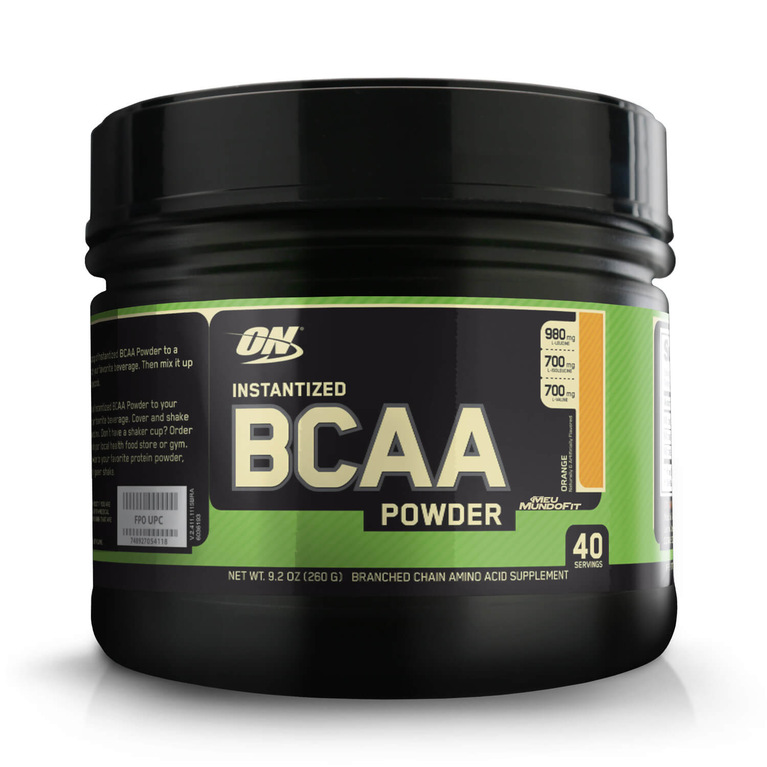 BCAA Powder Instantized Optimum Nutrition 260g