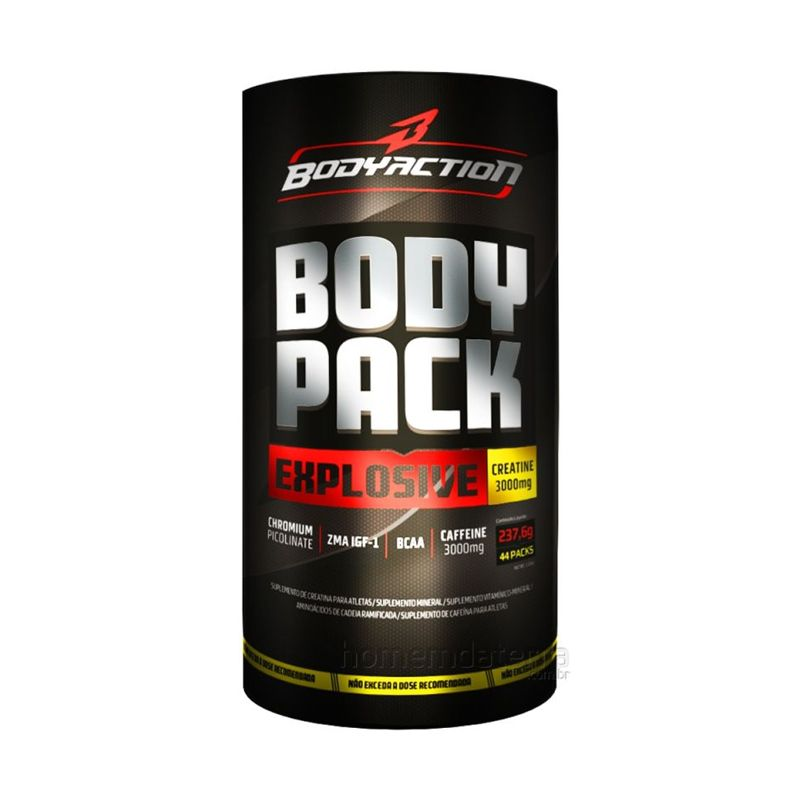 Body Pack Explosive Body Action