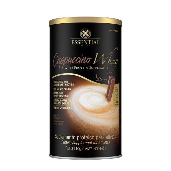 Cappuccino Whey Essential Nutrition 448 G