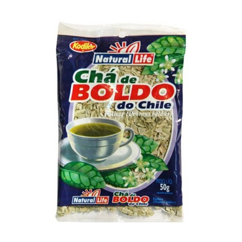 Chá de Boldo do Chile Natural Life 50 G