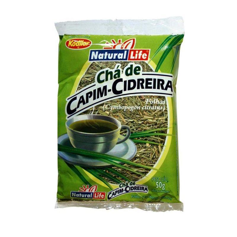 Chá de Capim-Cidreira Natural Life 50 G