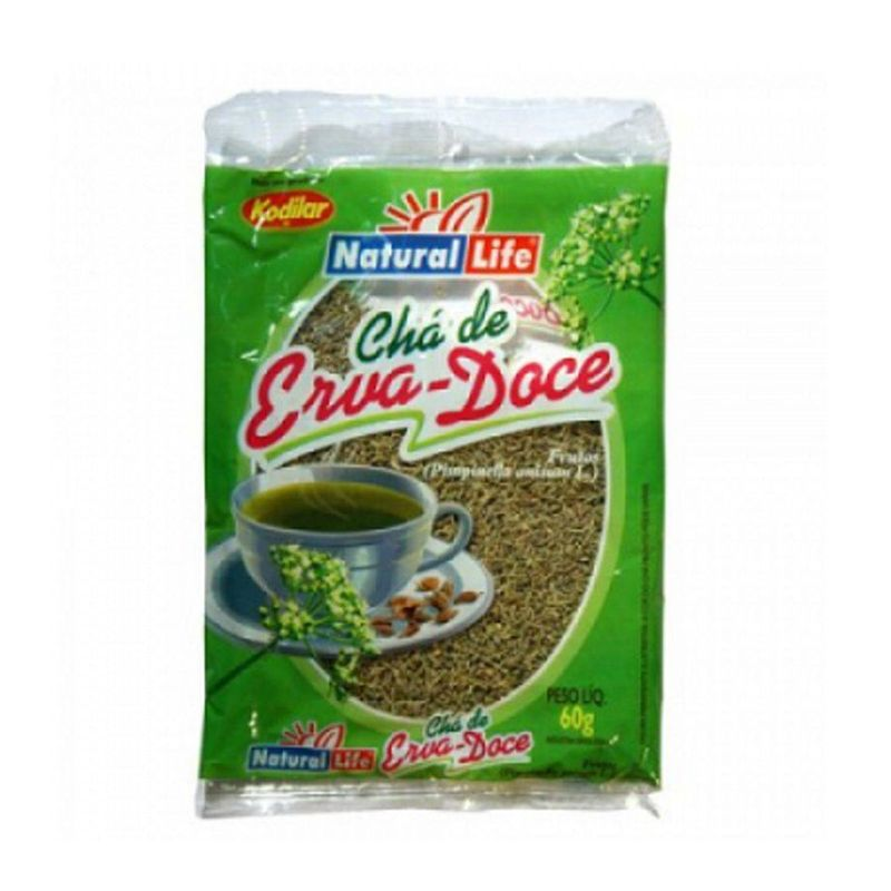 Chá de Erva-Doce Natural Life 60 G