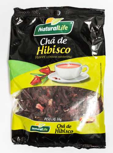 Chá de Hibisco Natural Life 30 G