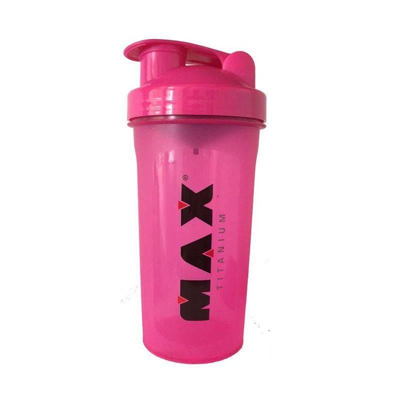Coqueteleira Pink Max Titanium 600 ML