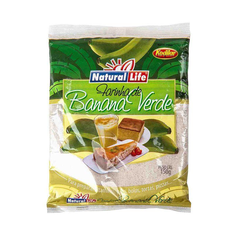 Farinha de Banana Verde Natural Life 150 G