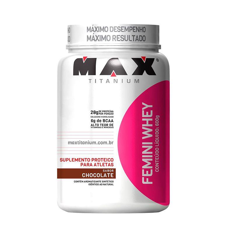 Femini Whey  Max Titanium 600 G
