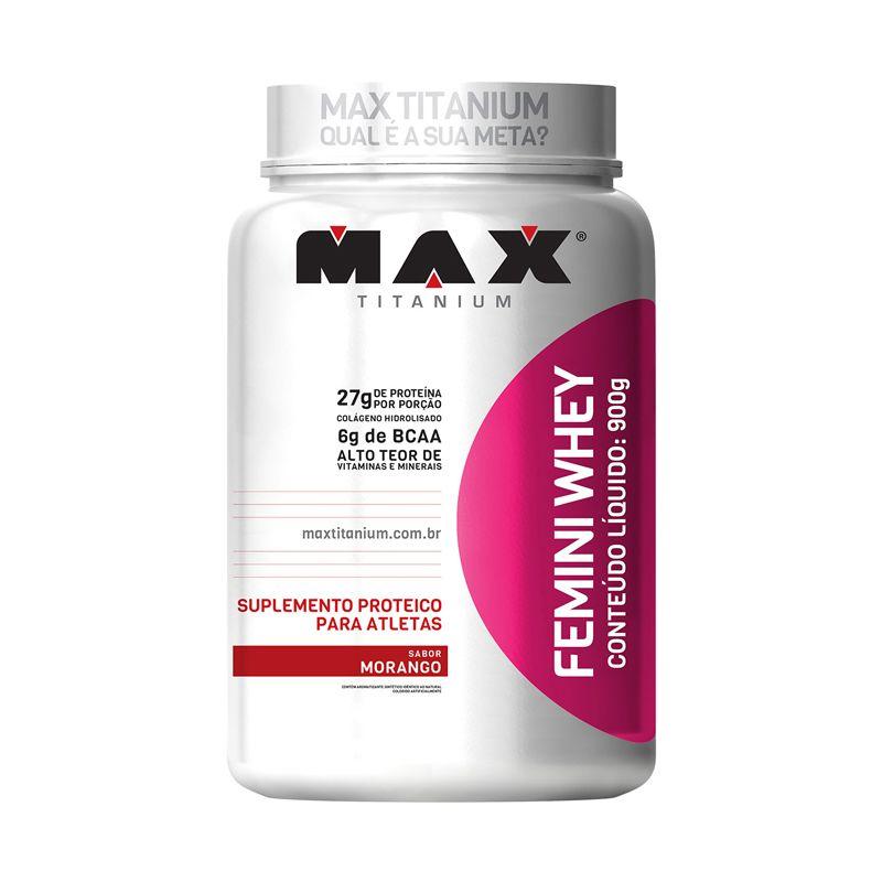 Femini Whey Max Titanium 900 G