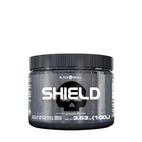 Glutamina Shield Black Skull