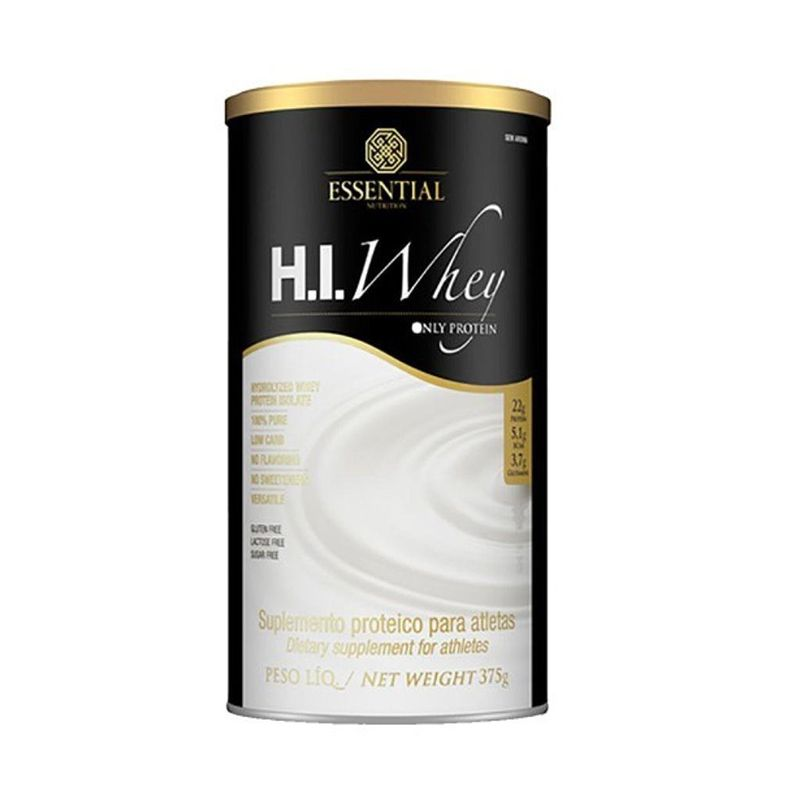 H.I. Whey Essential Nutrition 375 G Neutro