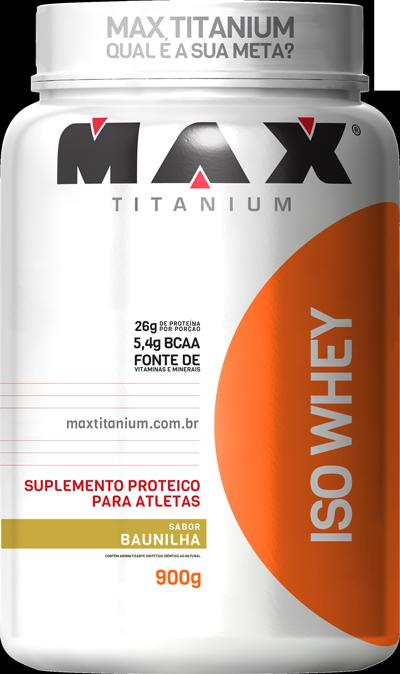 Iso Whey Max Titanium