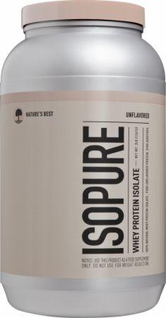 Isopure Protein Powder Natures Best 1.36kg Sem sabor