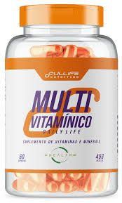 Kit 100% Pure Whey 900G Full Life + Creatina Full Life + Multivitamínico Daily Life Full Life + 30 doses de Tribulus