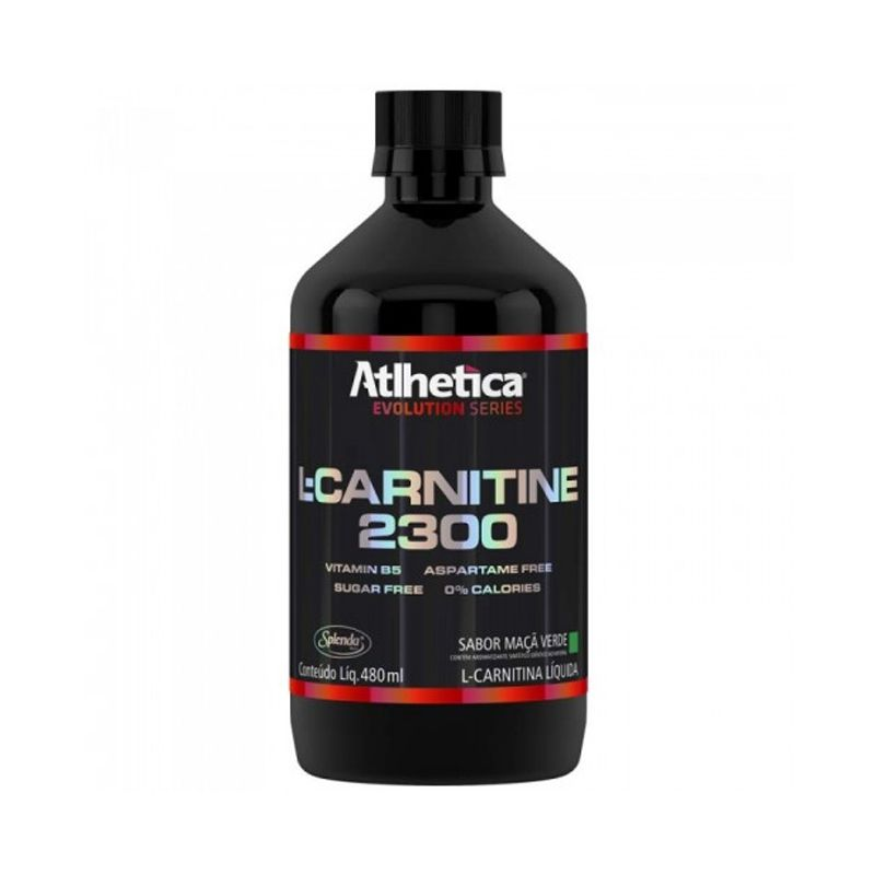 L-Carnitina 2300 Atlhetica  480 ML
