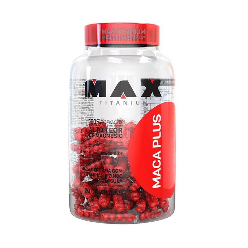 Maca Plus Max Titanium 120 Caps