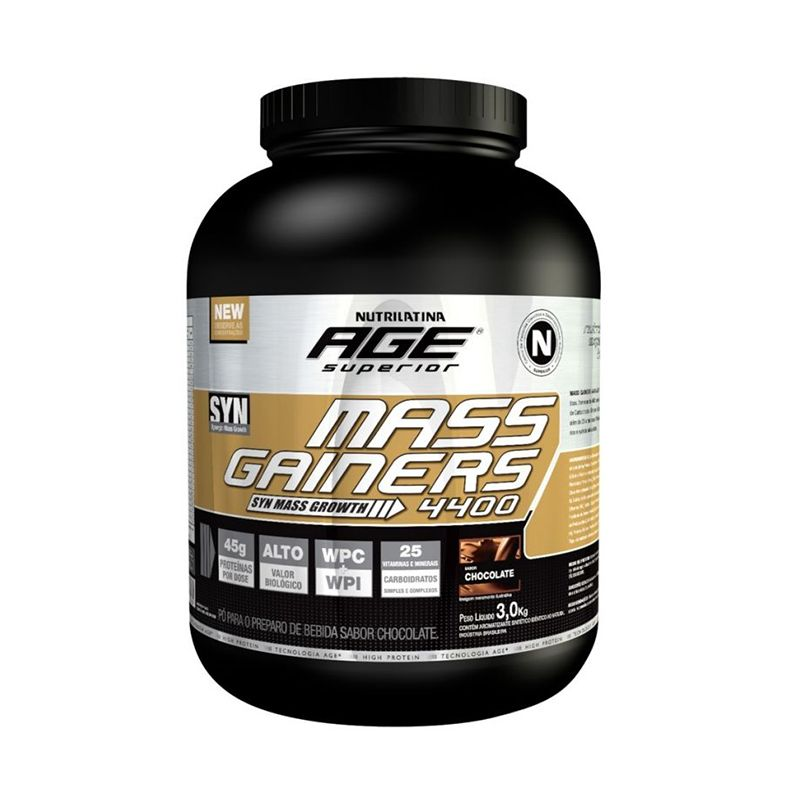 Mass Gainers 4400 Nutrilatina Age 3 Kg