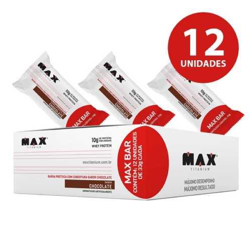 Max Bar  Max titanium 12 Unid