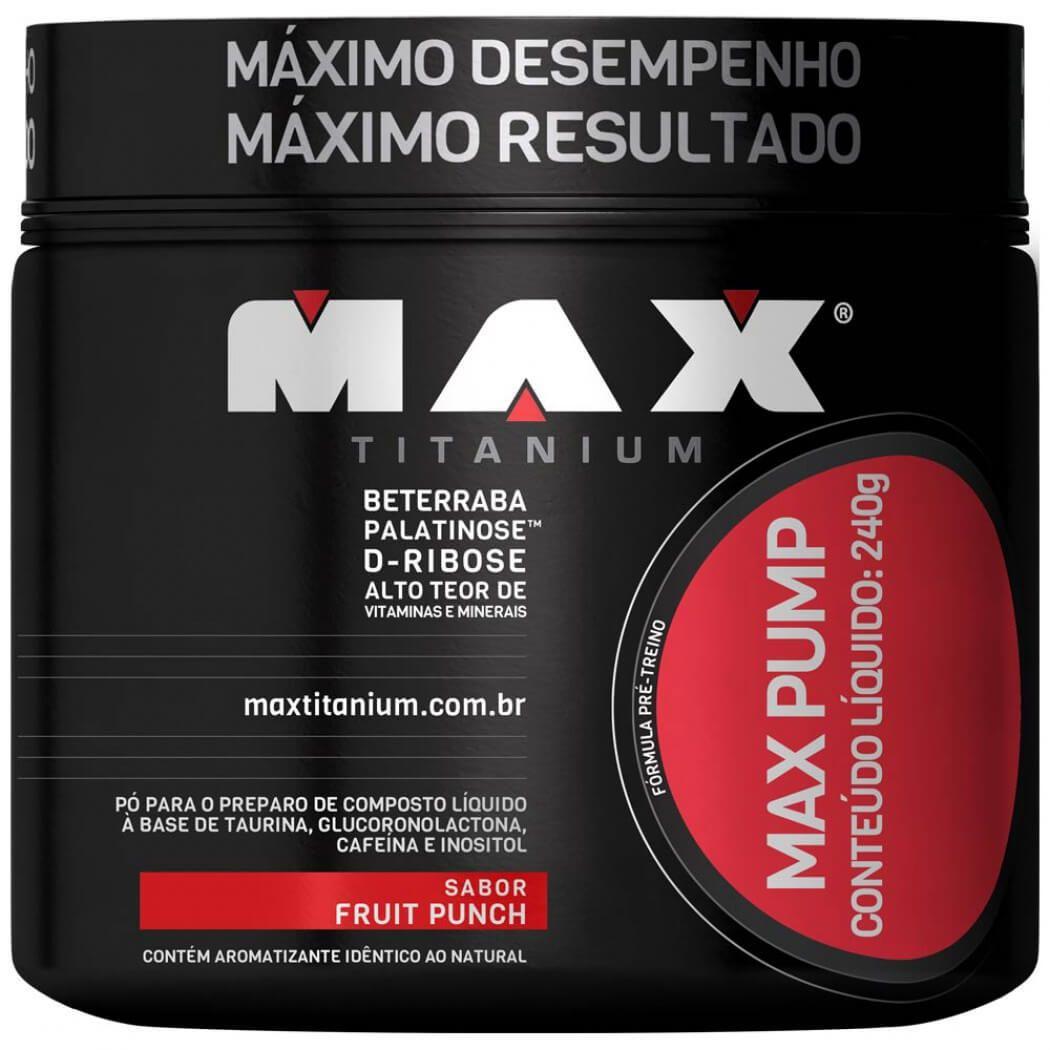 Max Pump Max Titanium 240 G