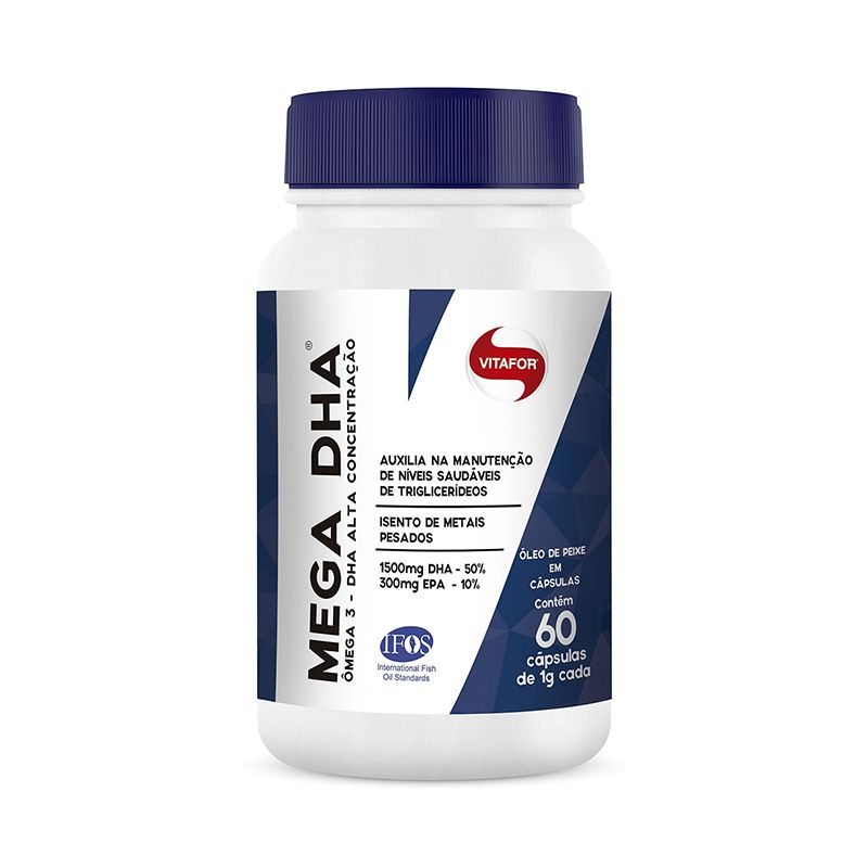 Mega DHA Vitafor 60 Caps