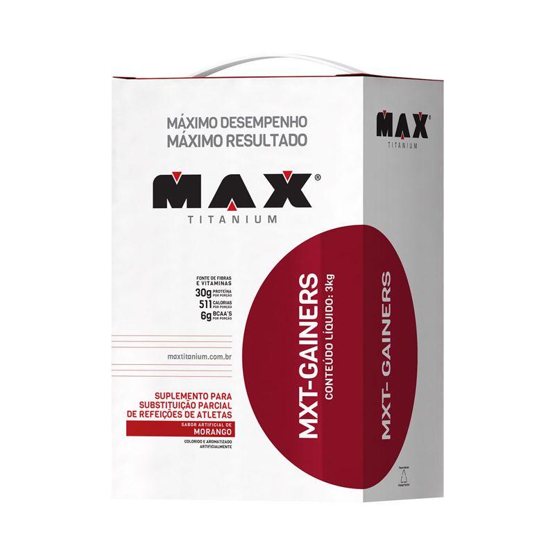 Mxt-Gainers Max Titanium 3 Kg