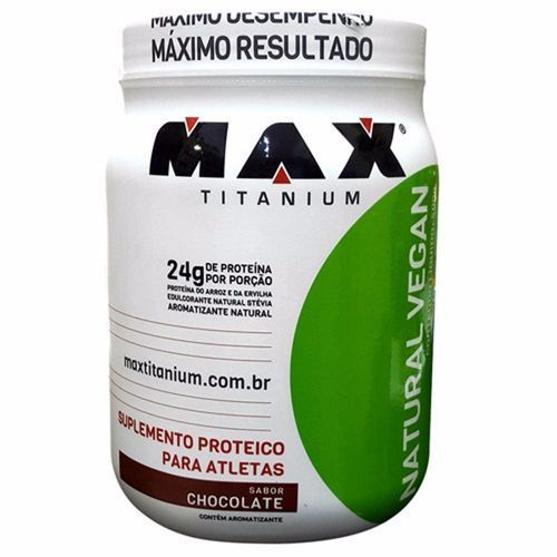 Natural Vegan Max Titanium 500 G