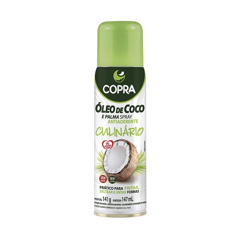 Óleo de Coco Spray Culinário Copra 147 ML