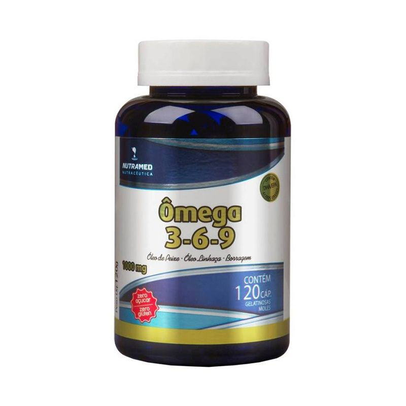 Ômega 3 - 6 - 9 (1000 Mg) Nutramed