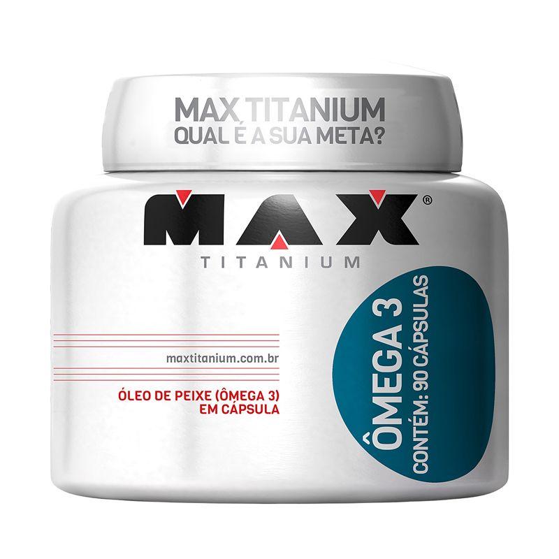Ômega 3 Max Titanium 90 Caps