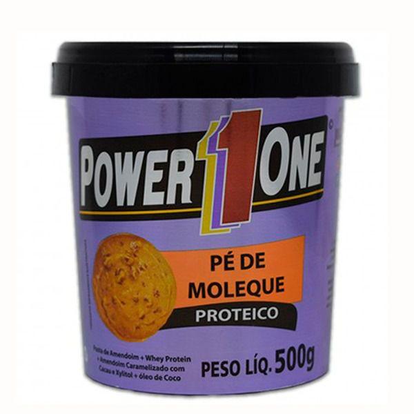 Pasta de Amendoim com Pé de Moleque Power One 500 G