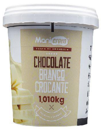 Pasta de amendoim Goumert Chocolate Branco Crocante