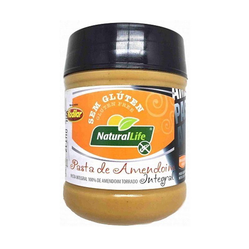 Pasta de Amendoim Integral Natural Life 300 G