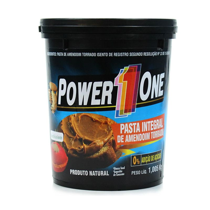 Pasta de Amendoim Integral Pastosa Power One 1 Kg