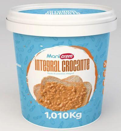 Pasta de Amendoim Mani Crem Integral Crocante