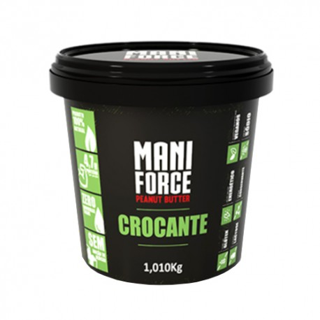 Pasta de Amendoim Mani Force Crocante 1,010kg