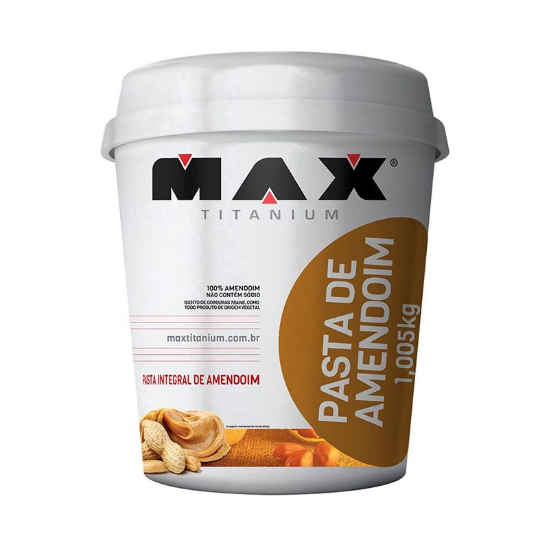 Pasta de Amendoim Max Titanium 1 Kg