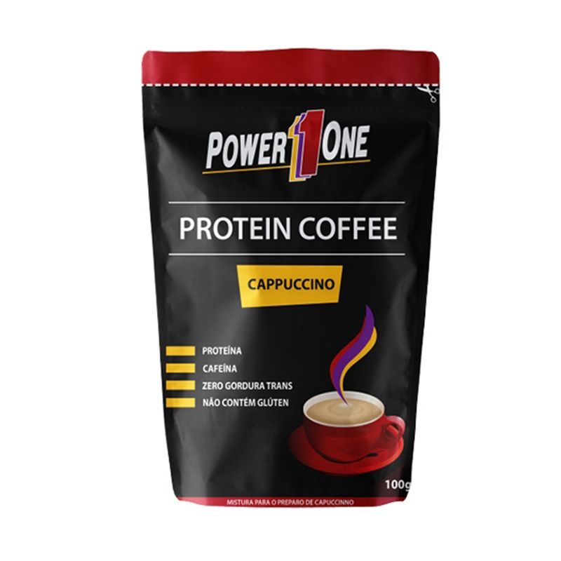 Protein Coffee Power One 100 G Cappuccino