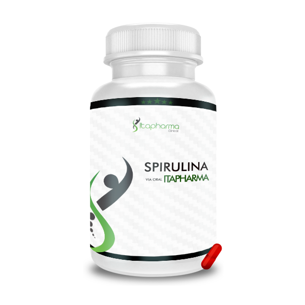 Spirulina 500MG - ITAPHARMA
