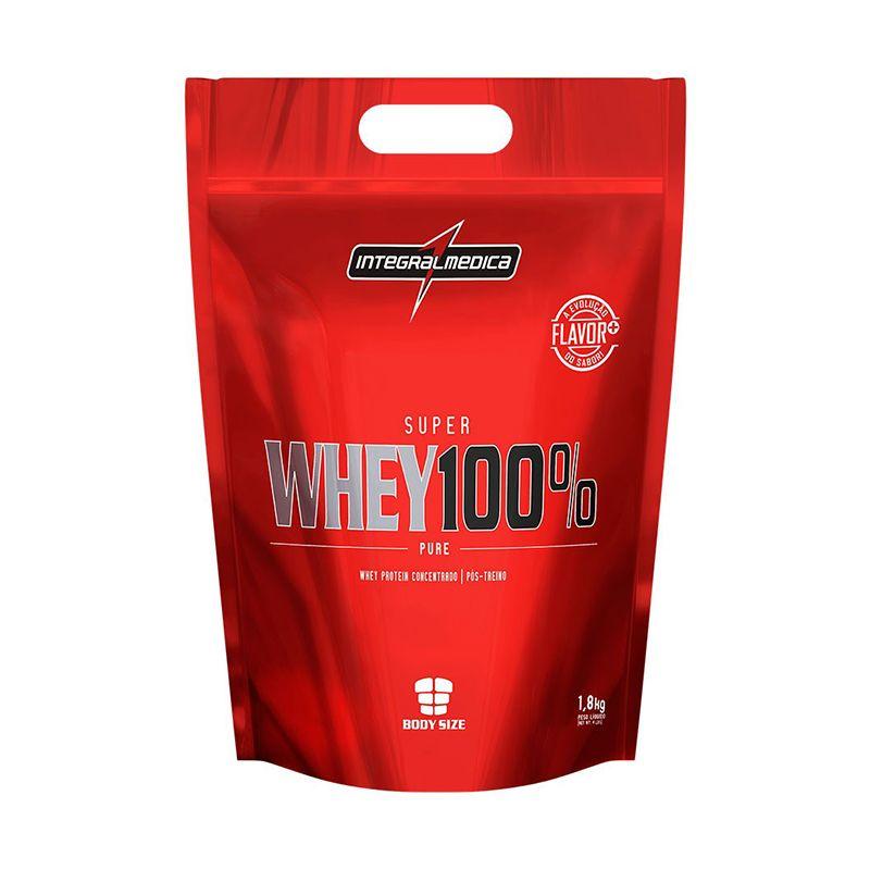 Super Whey 100% Pure Refil Integralmedica 1,8 Kg