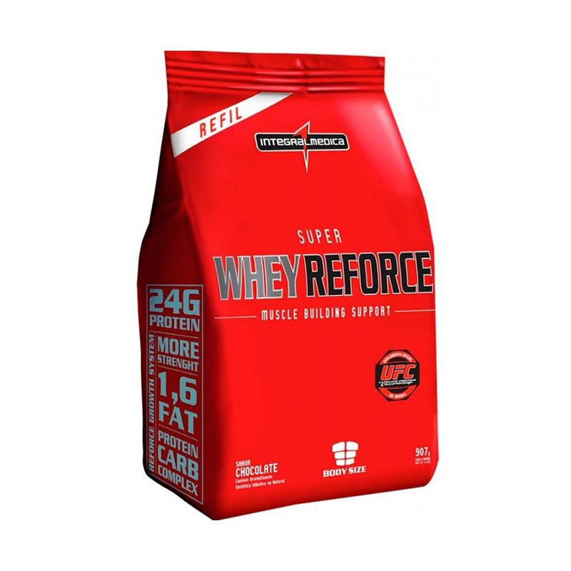 Super Whey Reforce Refil Integralmedica 907 G