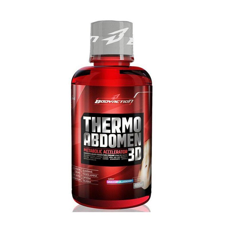 Thermo Abdomen 3D Body Action 480 ML Uva / Mirtilo
