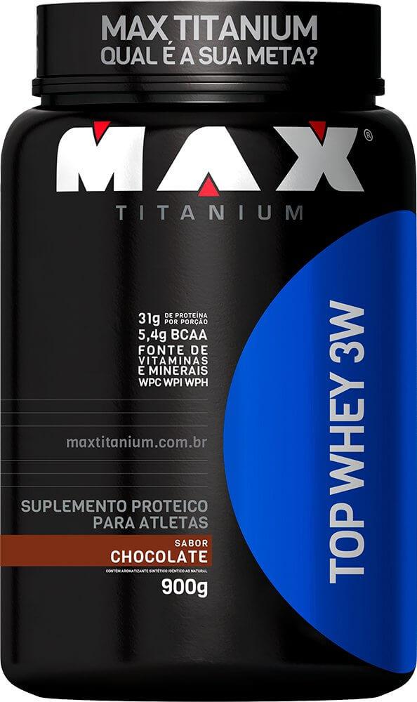 Top Whey 3W Max Titanium 900 G