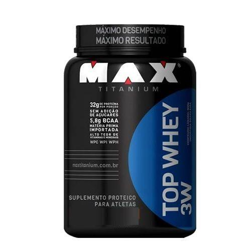 Top Whey 3W Natural 600g Max Titanium