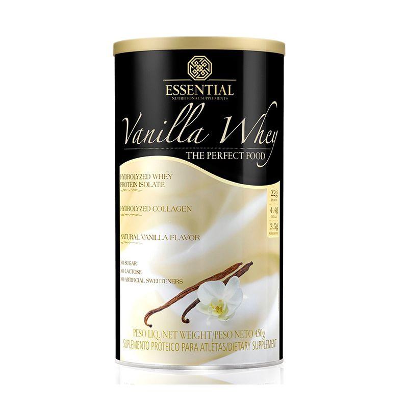 Vanilla Whey Essential Nutrition 450 G Baunilha
