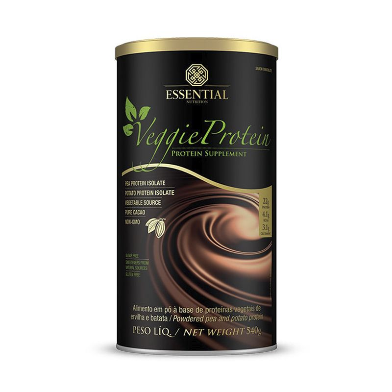 Veggie Protein  Essential Nutrition 540 G Chocolate