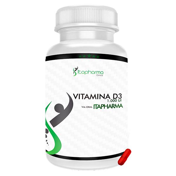 Vitamina D3 - 1.000 UI Itapharma
