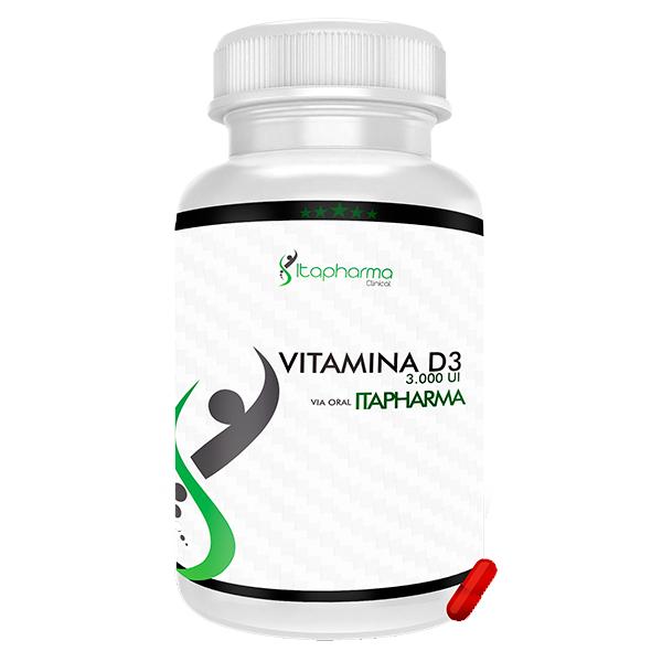 Vitamina D3 - 3.000 UI Itapharma