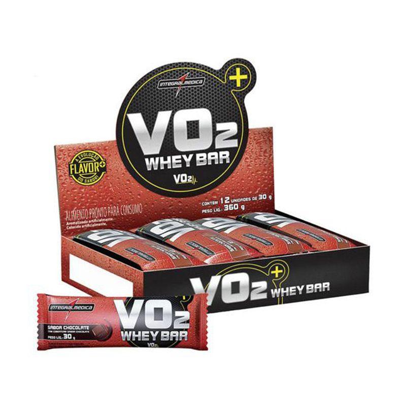VO2 Whey Bar Integralmedica 24 Unid