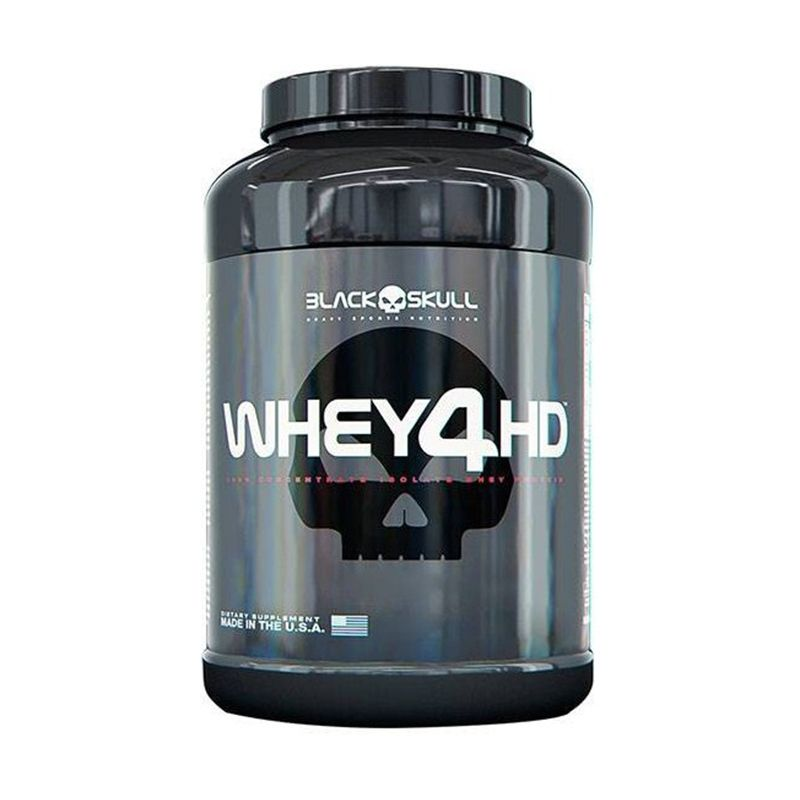 Whey 4 HD Black Skull  900 G