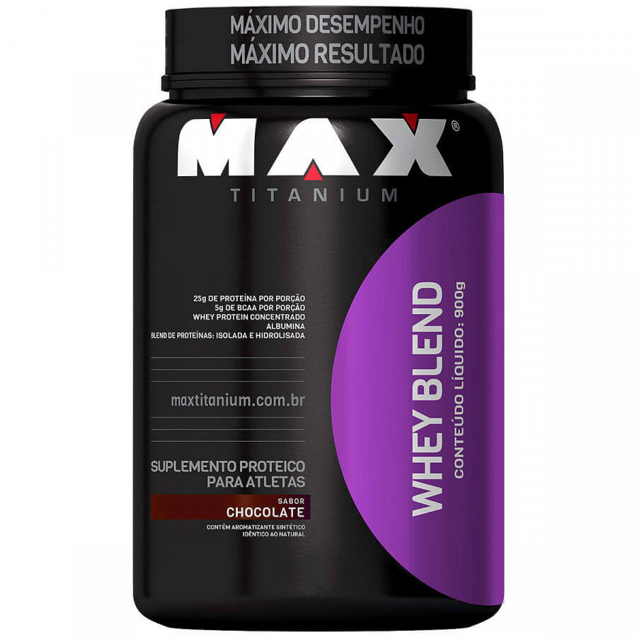 Whey Blend Max Titanium 900 G